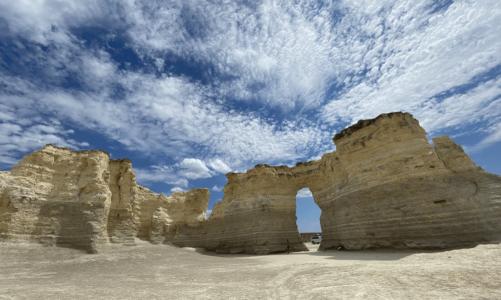 Stop #29: Monument of Rocks, Kansas