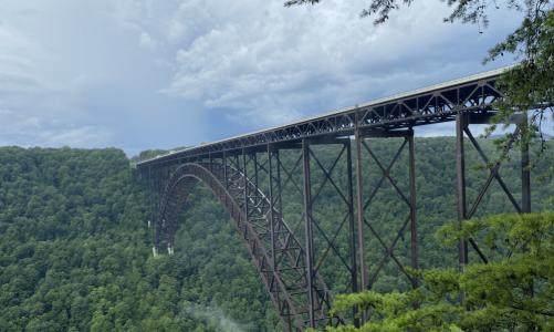 Stop #34: New River Gorge National River Bridge & Blackwater Falls, West Virginia
